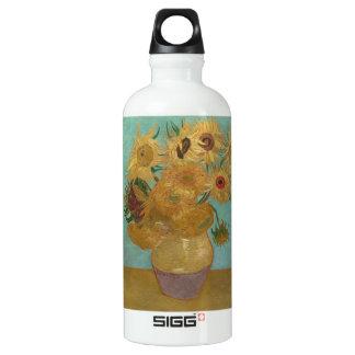 Vincent van Gogh - Sunflowers Water Bottle