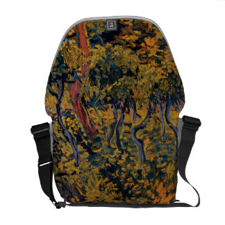 Vincent Van Gogh - Sunset at Montmajour Fine Art Courier Bag