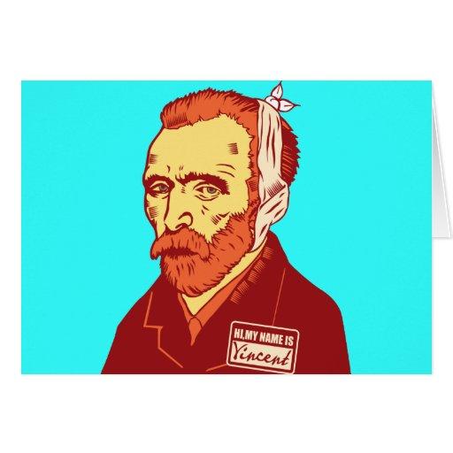 Vincent van Gogh Tarjeta De Felicitación