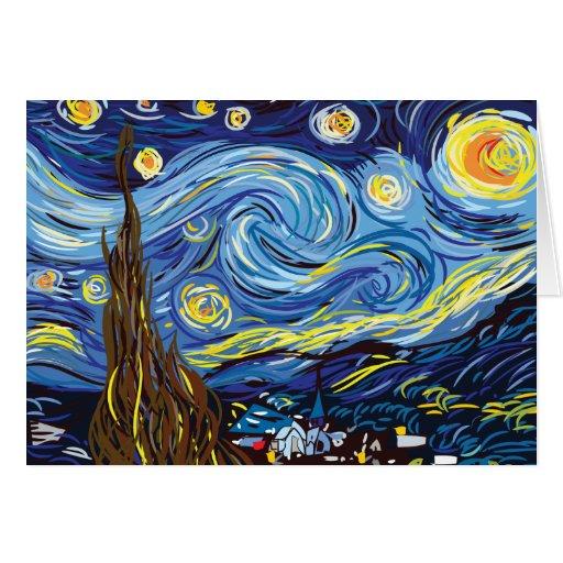 Vincent van Gogh Thank You Card