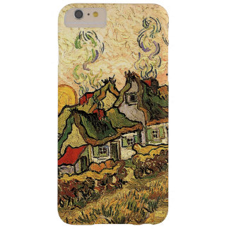 Vincent van Gogh-Thatched Cottages at Cordeville Barely There iPhone 6 Plus Case