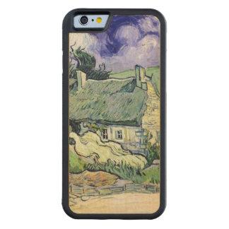 Vincent van Gogh | Thatched cottages at Cordeville Carved Maple iPhone 6 Bumper Case