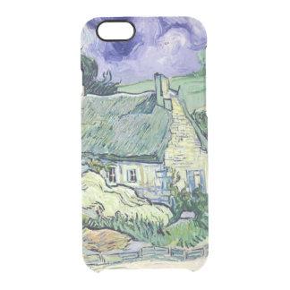 Vincent van Gogh | Thatched cottages at Cordeville Clear iPhone 6/6S Case
