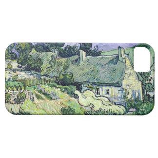 Vincent van Gogh | Thatched cottages at Cordeville iPhone SE/5/5s Case