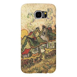 Vincent van Gogh-Thatched Cottages at Cordeville Samsung Galaxy S6 Case