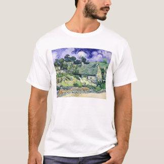 Vincent van Gogh | Thatched cottages at Cordeville T-Shirt