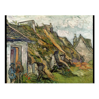 Vincent van Gogh | Thatched Cottages in Chaponval Postcard