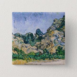 Vincent van Gogh | The Alpilles, 1889 Button
