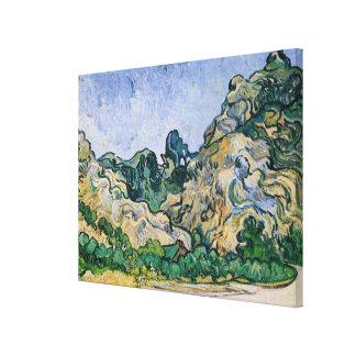 Vincent van Gogh | The Alpilles, 1889 Canvas Print
