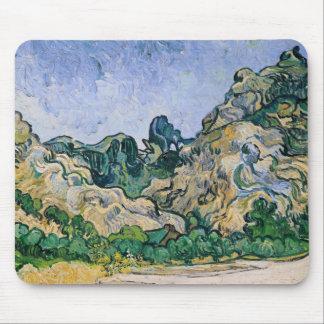 Vincent van Gogh   The Alpilles, 1889 Mouse Pad