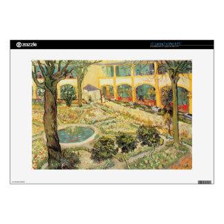 Vincent van Gogh | The Asylum Garden at Arles Decal For Laptop