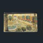 "Vincent van Gogh | The Asylum Garden at Arles Wristlet<br><div class=""desc"">Image:42203  The Asylum Garden at Arles,  1889 (oil on canvas). Gogh,  Vincent van (1853-90). Oskar Reinhart Collection,  Winterthur,  Switzerland.  Art,  Fine Art.</div>"