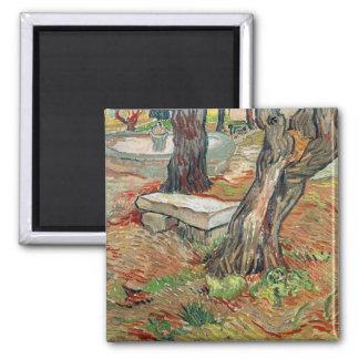 Vincent van Gogh   The Bench at Saint-Remy Magnet