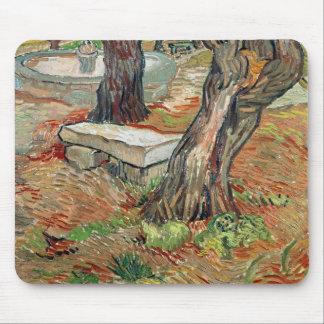 Vincent van Gogh | The Bench at Saint-Remy Mouse Pad