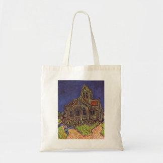 Vincent Van Gogh - The Church at Auvers Canvas Bag