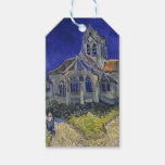 Vincent Van Gogh - The Church at Auvers Gift Tags