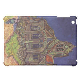 Vincent Van Gogh - The Church at Auvers Painting iPad Mini Cover