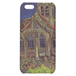 Vincent Van Gogh - The Church at Auvers Painting iPhone 5C Cases