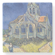 Vincent van Gogh | The Church at Auvers-sur-Oise Stone Coaster
