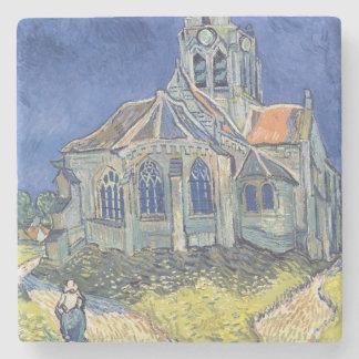 Vincent van Gogh | The Church at Auvers-sur-Oise Stone Coaster