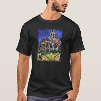 Vincent Van Gogh - The Church at Auvers T-Shirt