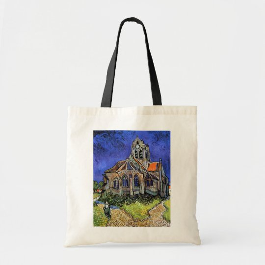 Vincent Van Gogh - The Church at Auvers Tote Bag