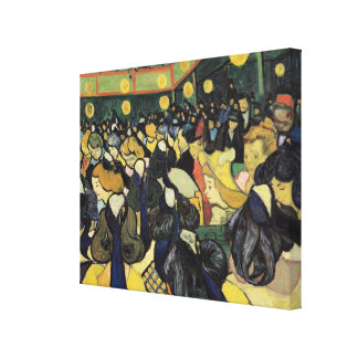 Vincent van Gogh   The Dance Hall at Arles, 1888 Canvas Print