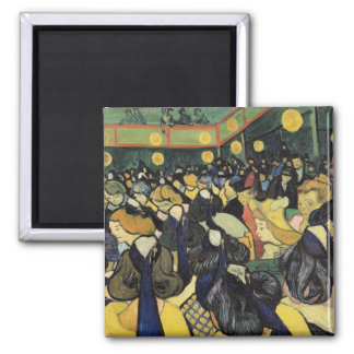 Vincent van Gogh | The Dance Hall at Arles, 1888 Magnet