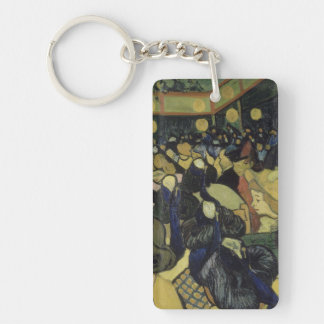 Vincent van Gogh - The Dance Hall in Arles Keychain
