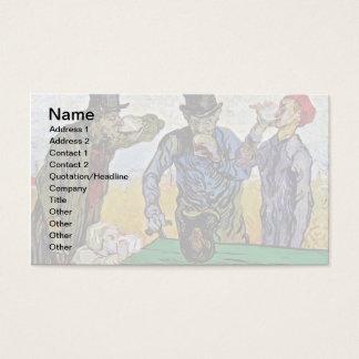 Vincent Van Gogh - The Drinkers - Fine Art Business Card