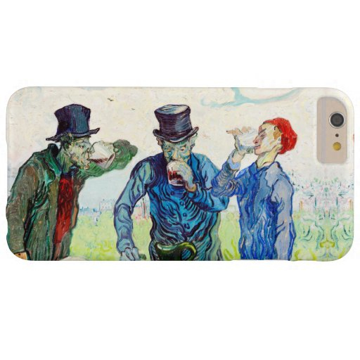 Vincent Van Gogh The Drinkers Fine Art Barely There iPhone 6 Plus Case