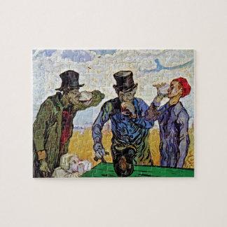 Vincent Van Gogh - The Drinkers - Fine Art Jigsaw Puzzle