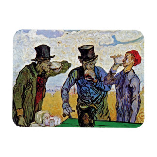 Vincent Van Gogh - The Drinkers - Fine Art Magnet