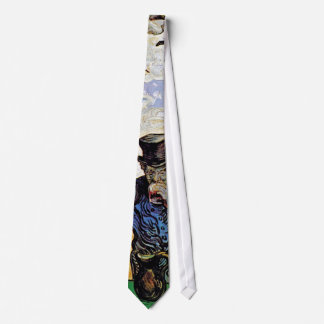 Vincent Van Gogh - The Drinkers - Fine Art Neck Tie