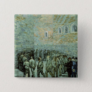 Vincent van Gogh | The Exercise Yard Pinback Button