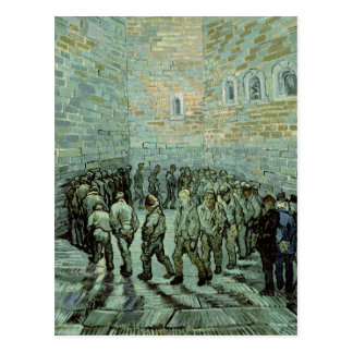 Vincent van Gogh   The Exercise Yard Postcard