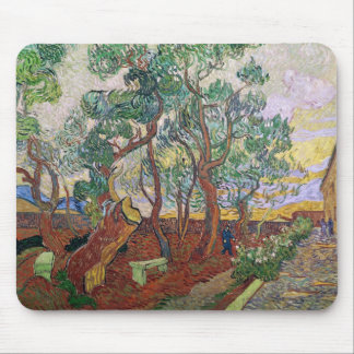 Vincent van Gogh | The Garden of St. Paul Hospital Mouse Pad