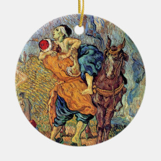 Vincent Van Gogh - The Good Samaritan - Fine Art Ceramic Ornament