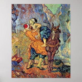 Vincent Van Gogh - The Good Samaritan - Fine Art Poster