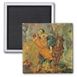 Vincent Van Gogh - The Good Samaritan Fridge Magnet