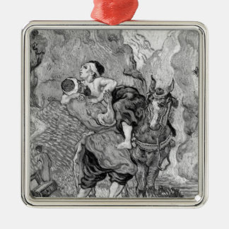 Vincent van Gogh | The Good Samaritan Metal Ornament