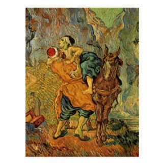 Vincent Van Gogh - The Good Samaritan Postcard