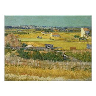 Vincent van Gogh - The Harvest Photo Print