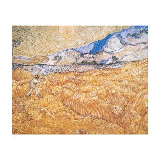 Vincent van Gogh   The Harvester Canvas Print
