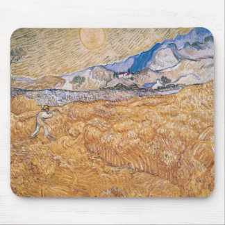 Vincent van Gogh | The Harvester Mouse Pad