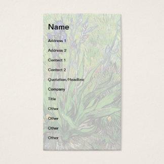 Vincent Van Gogh - The Iris Nature Lover Fine Art Business Card