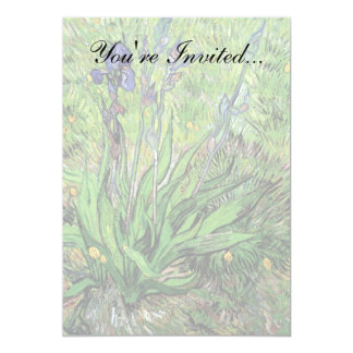 Vincent Van Gogh - The Iris Nature Lover Fine Art Card