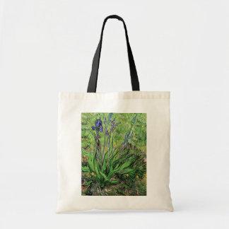 Vincent Van Gogh - The Iris Nature Lover Fine Art Tote Bag