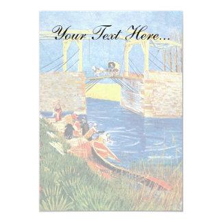 Vincent Van Gogh - The Langlois Bridge At Arles Card