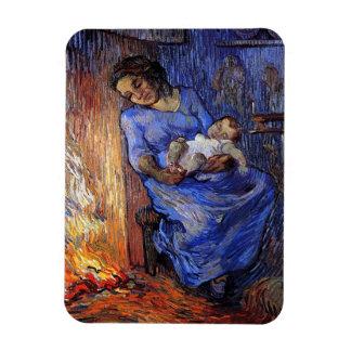 Vincent Van Gogh - The Man Is At Sea Fine Art Magnet